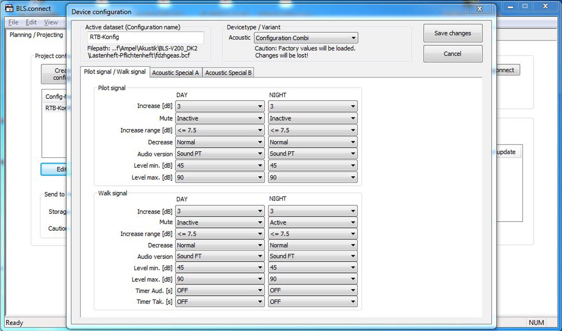 akustik software EN 1